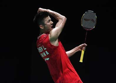 Chen Long, Momota reach last eight at Badminton worlds