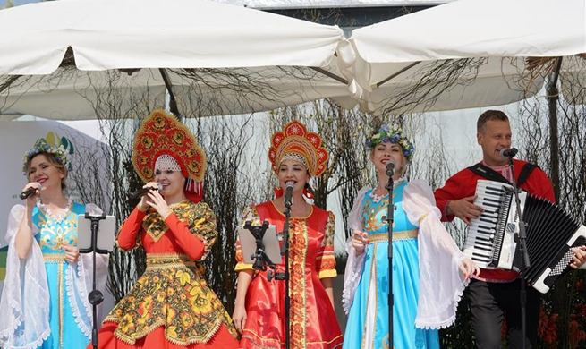 """Russia Day"" event held at Beijing horticultural expo"