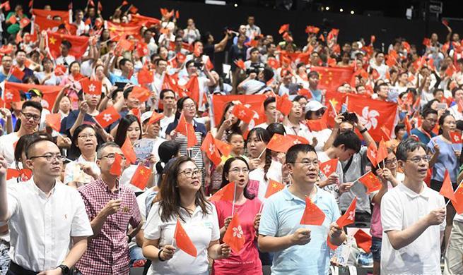 Families call for solidarity, harmony in Hong Kong