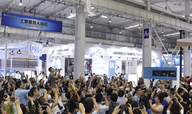 Xinhua Headlines: China's robotics industry forges ahead to brighter future
