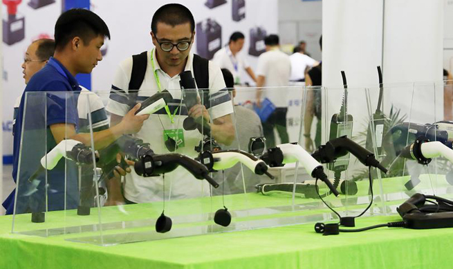 Shanghai Int'l New Energy Vehicle Industry Expo opens