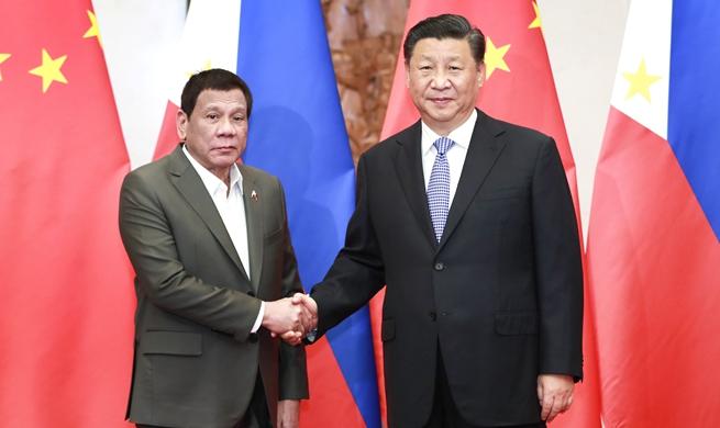 Xi, Duterte meet on pushing forward ties