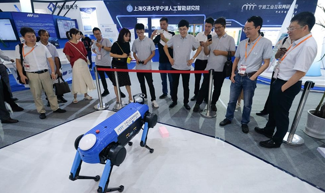 9th China Smart City and Intelligent Economy Expo opens in Ningbo