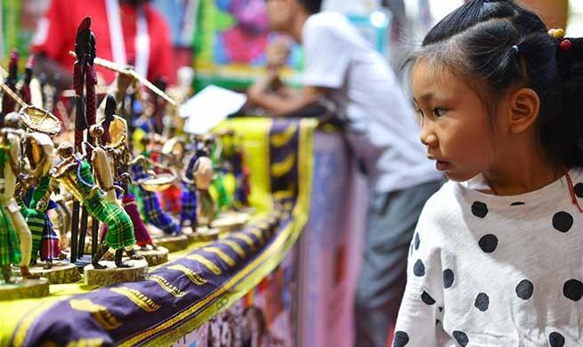 Dazzling handicrafts seen at 4th China-Arab States Expo