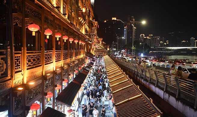 Nighttime economy enriches citizens' consumption choices, attracts visitors in Chongqing
