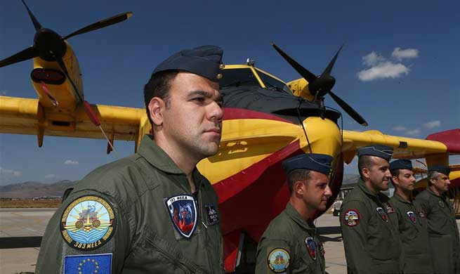 Greece joins RescEu's mechanism against natural disasters with two fire-fighting aircraft