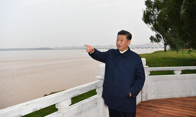 Xi inspects manufacturing enterprise, Yellow River ecological protection in central China