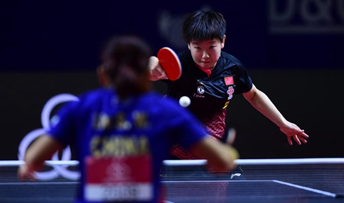 In pics: Asian Table Tennis Championship women's singles final