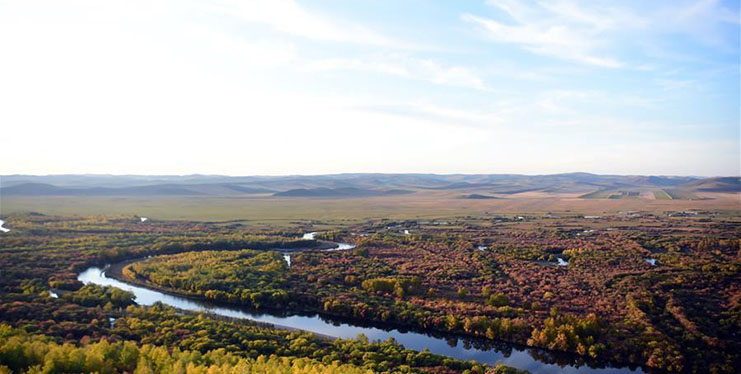 Autumn scenery in Ergun, N China's Inner Mongolia