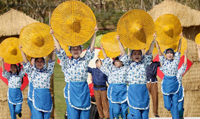Farmers across China celebrate harvest festival
