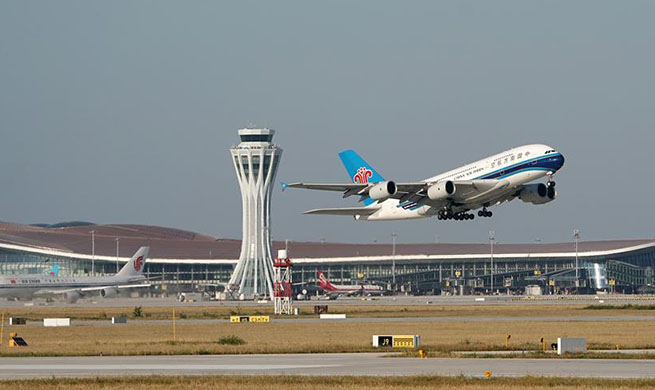 Xinhua Headlines: Beijing's new airport opens to flights