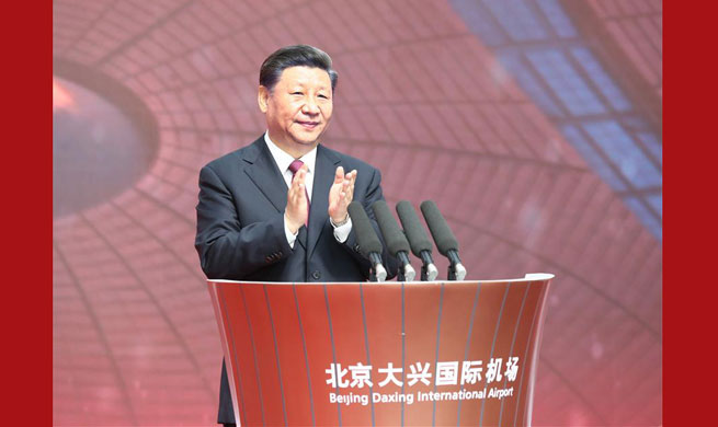 Xi announces opening of Beijing Daxing International Airport