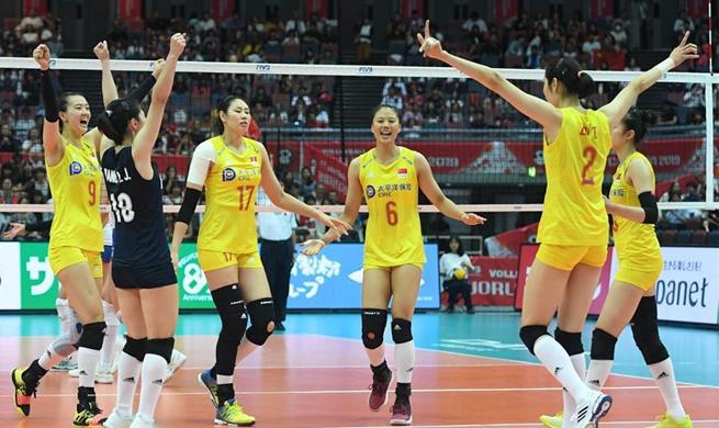FIVB Women's World Cup : China vs. Serbia