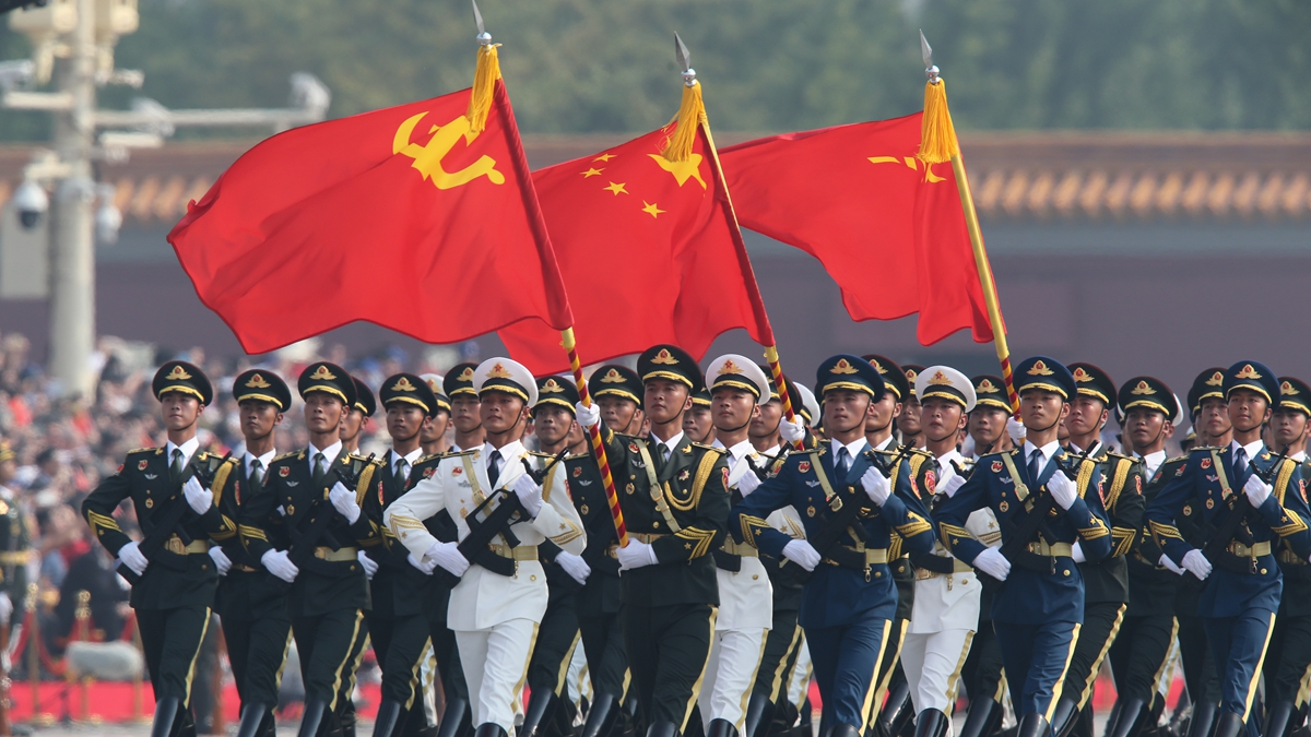 Xinhua photos of the day: celebration of 70th anniversary of PRC's founding