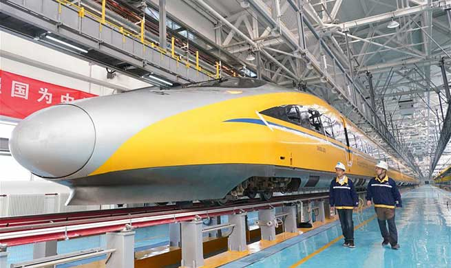 Beijing-Zhangjiakou high-speed railway starts debugging