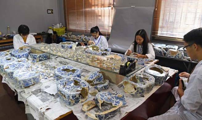 Xinhua Headlines: China's porcelain capital Jingdezhen to emerge as world culture center