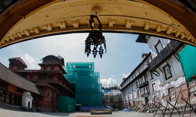 Xinhua Headlines: Chinese restoration specialists help Nepal recover soul of Kathmandu Valley culture