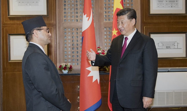 Xi pledges to enhance cooperation between Chinese, Nepali legislatures