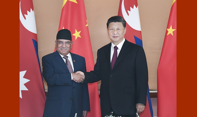 Xi meets Nepal Communist Party co-chairman to advance inter-party ties