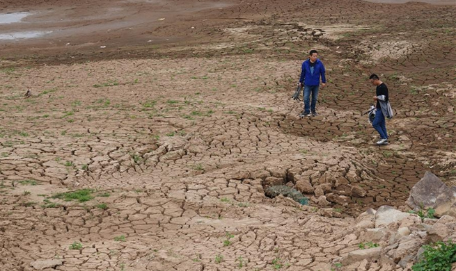Orange alert for drought issued in E China's Jiangxi