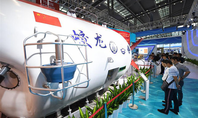 2019 China Marine Economy Expo opens in Shenzhen