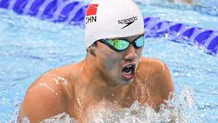 China dominates in pool and water in Day 2 at military games