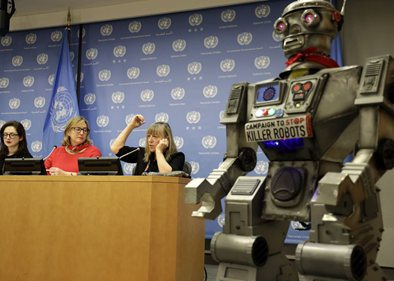 "Campaign urges int'l community to stop developing ""killer robots"""