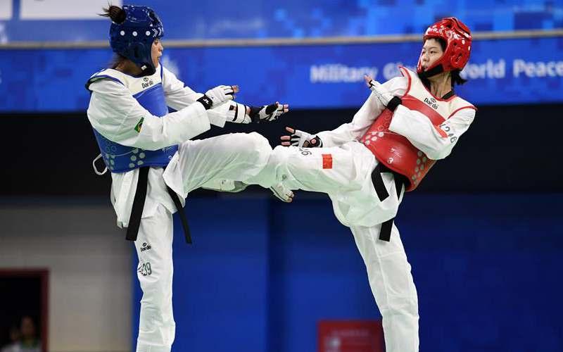 Highlights of taekwondo finals at Military World Games