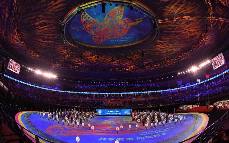 """Military World Games of """"historic"""" and """"peace"""" close in Wuhan"""