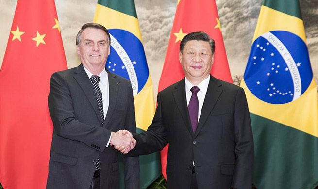 Xi says China, Brazil cooperation embraces brighter future