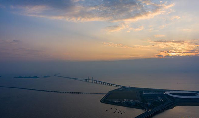 In pics: 1 year anniv. of launching Hong Kong-Zhuhai-Macao Bridge