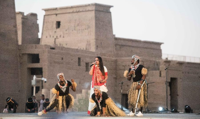 4th Afro-Chinese folklore festival kicks off in Egypt's Aswan