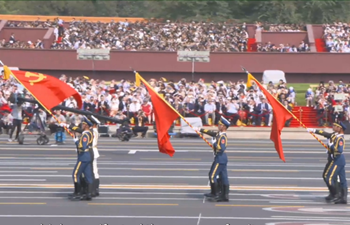 Inspiring moments of new China's 70th anniversary celebrations