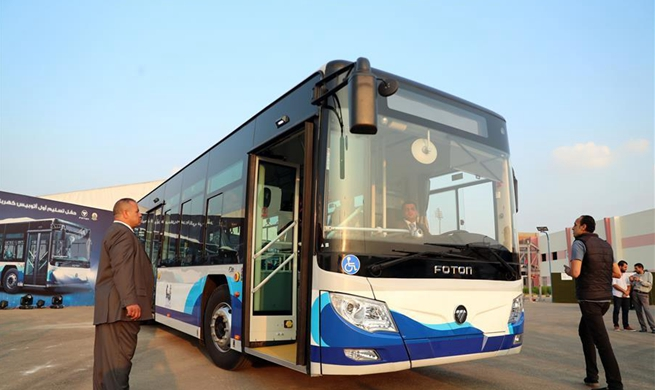 Egypt, China's Foton Motor aim to localize producing electric buses in Egypt