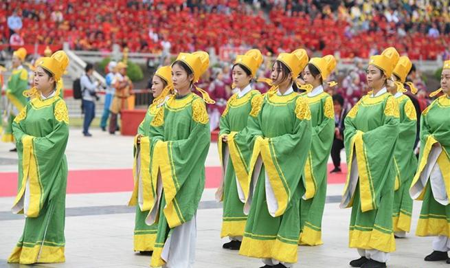 21st Meizhou Mazu Cultural Tourism Festival held in Putian, SE China