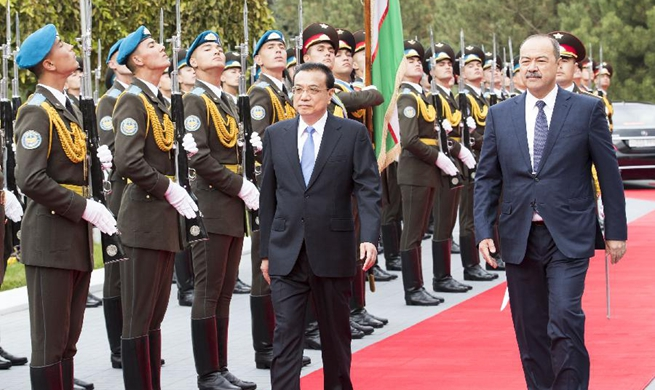 China-Uzbekistan relations enter golden period of rapid development: Premier Li
