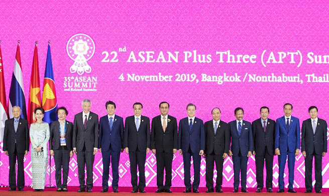 Chinese premier calls for more solidarity, coordination within framework of ASEAN+3
