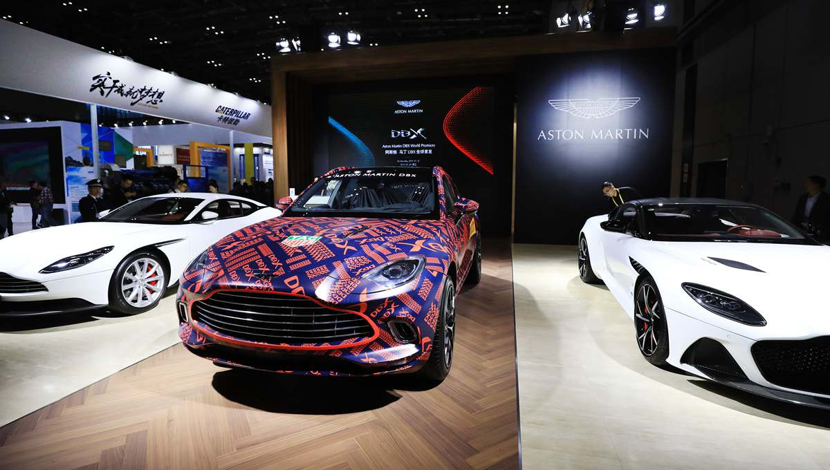 Exhibitions displayed during 2nd China Int'l Import Expo