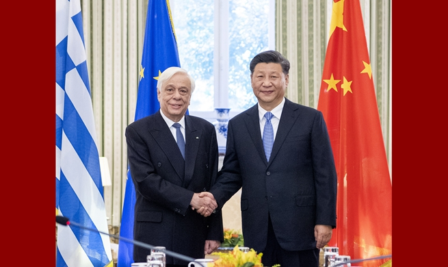 Chinese, Greek presidents pledge joint efforts for community with shared future for mankind