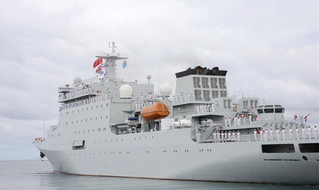 Chinese naval ship Qijiguang ends visit to Fiji