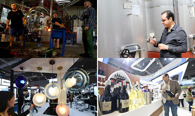 High quality goods from all around the world showcased at 2nd CIIE