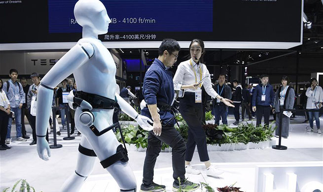 In pics: a glimpse of 2nd China International Import Expo