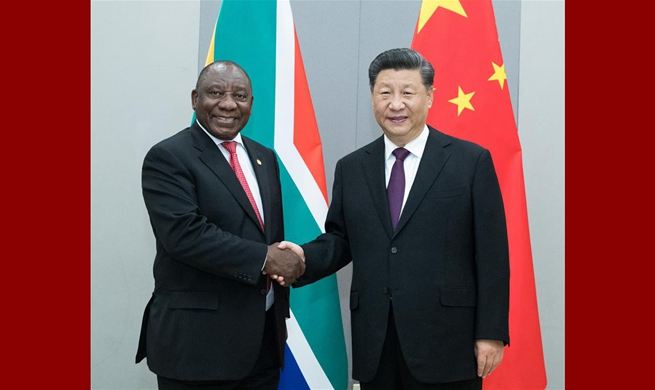 China ready to promote strategic partnership with South Africa: Xi