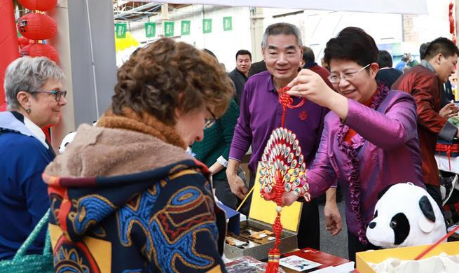 Int'l charity bazaar held in Dublin with heavy Chinese presence