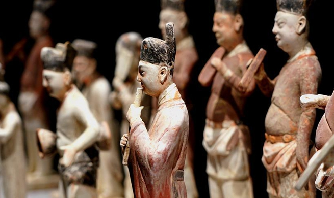 Exhibition on music and dancing along ancient Silk Road held in C China