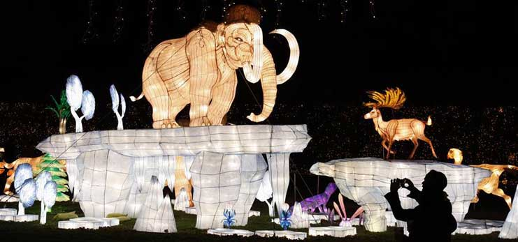 2nd New York City Winter Lantern Festival kicks off