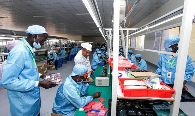 Chinese electronics firm launches 5 mln USD factory in Uganda