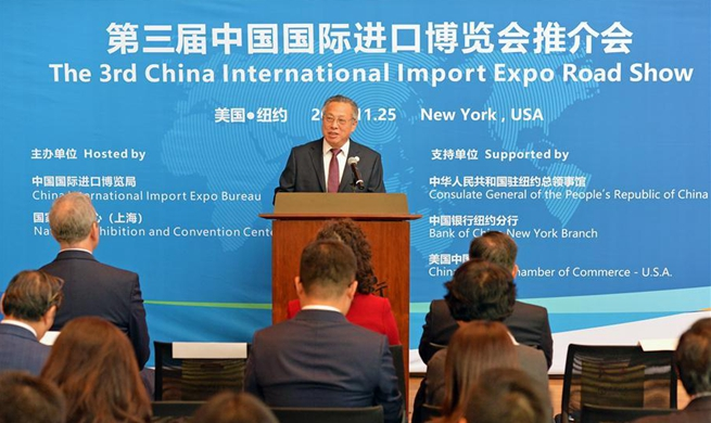 U.S. companies show continued interest in China's import expo