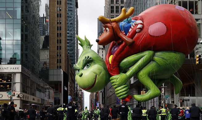 Highlights of Macy's Thanksgiving Day Parade in New York