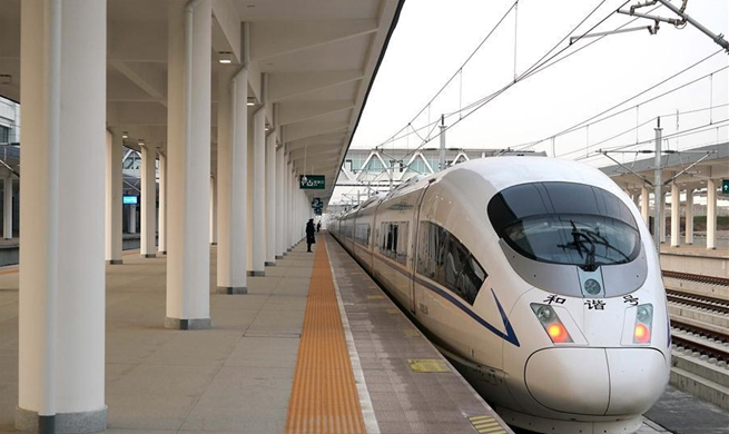 High-speed railway sector connecting Zhengzhou, Xiangyang opens to public
